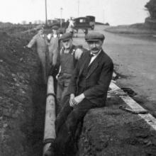 Gas Main Laying possibly 1930s
